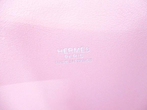エルメス ハンドバッグ美品  ボリード27 ローズサクラ シルバー金具 6