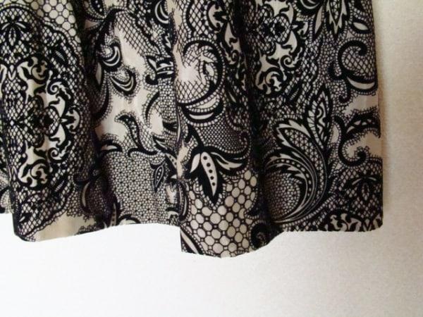 ステファン スカート サイズ38 M レディース美品  ベージュ×黒 6