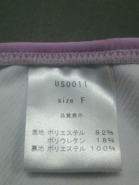 レディ ビキニ サイズF レディース新品同様  ピンク×パープル×白 4