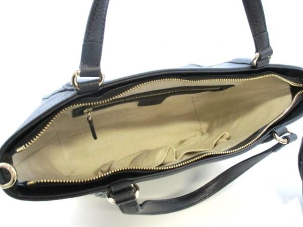 GUCCI(グッチ) ハンドバッグ美品  ソーホー 369176 黒 レザー 5