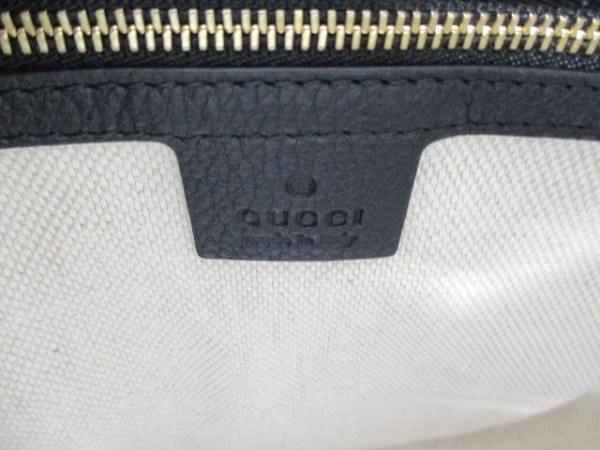 GUCCI(グッチ) ハンドバッグ美品  ソーホー 369176 黒 レザー 6