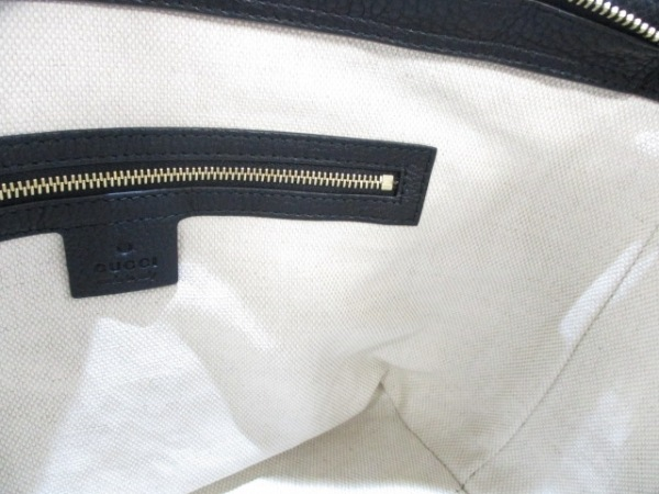 GUCCI(グッチ) ハンドバッグ美品  ソーホー 369176 黒 レザー 8