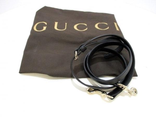 GUCCI(グッチ) ハンドバッグ美品  ソーホー 369176 黒 レザー 9