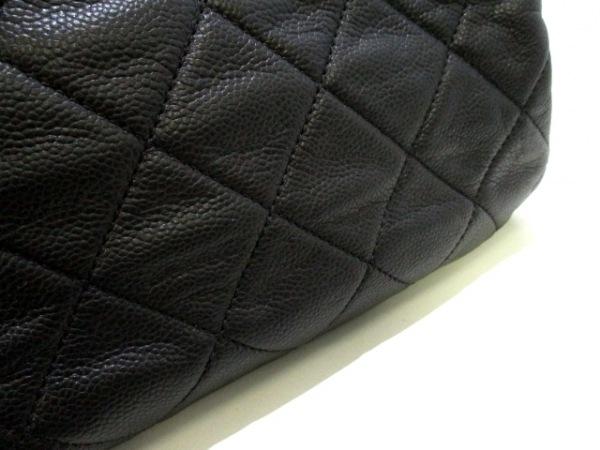 CHANEL(シャネル) トートバッグ美品  マトラッセ A50277 黒 9