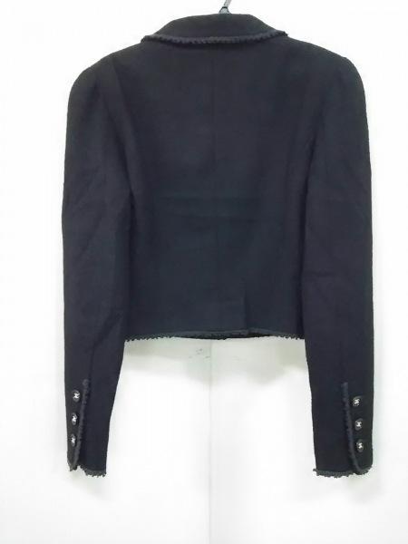 CHANEL(シャネル) ジャケット サイズ38 M レディース 黒 ココマーク 2