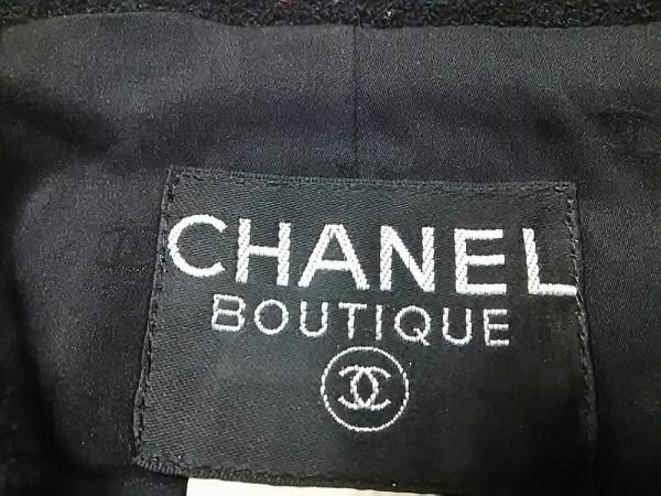CHANEL(シャネル) ジャケット サイズ38 M レディース 黒 ココマーク 3