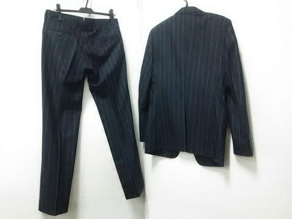 ドルチェアンドガッバーナ シングルスーツ メンズ ダークグレー×白 2
