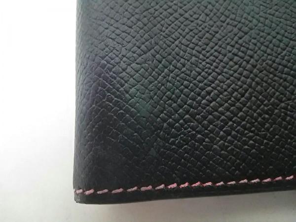 エルメス 手帳美品  グローブトロッター 黒×レッド クシュベル 5