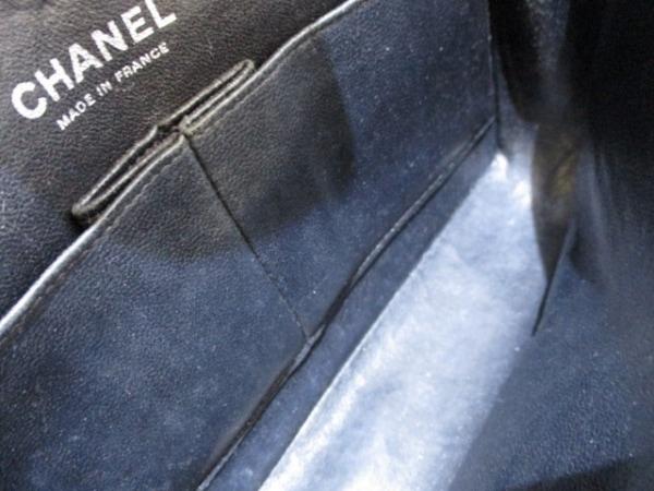 シャネル ショルダーバッグ マトラッセ A01112 黒 キャビアスキン 7