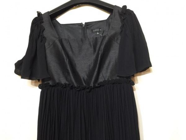 EPOCA(エポカ) ドレス サイズ38 M レディース美品  黒 シースルー 0
