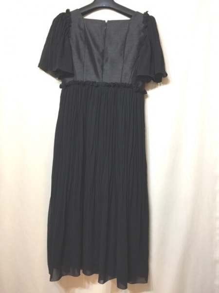 EPOCA(エポカ) ドレス サイズ38 M レディース美品  黒 シースルー 2