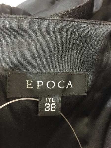 EPOCA(エポカ) ドレス サイズ38 M レディース美品  黒 シースルー 3
