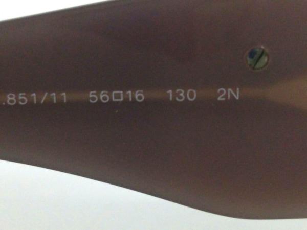 シャネル サングラス 56□16 130 カメリア 5113-A プラスチック 5