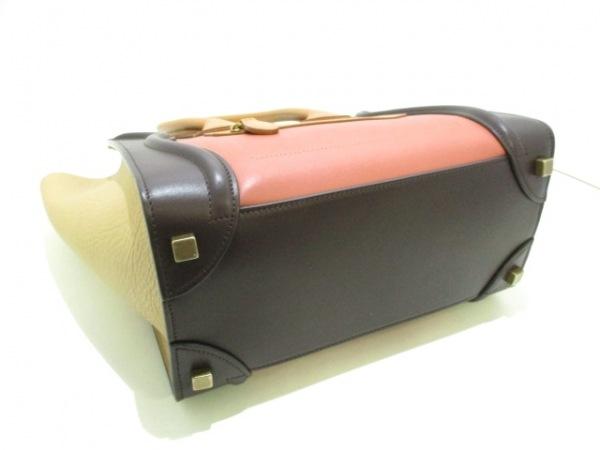 CELINE(セリーヌ) トートバッグ美品  ラゲージマイクロショッパー 4