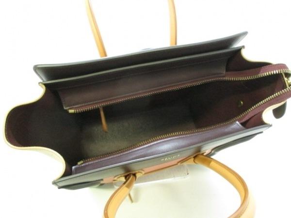 CELINE(セリーヌ) トートバッグ美品  ラゲージマイクロショッパー 5