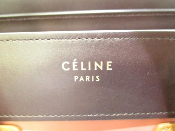 CELINE(セリーヌ) トートバッグ美品  ラゲージマイクロショッパー 6
