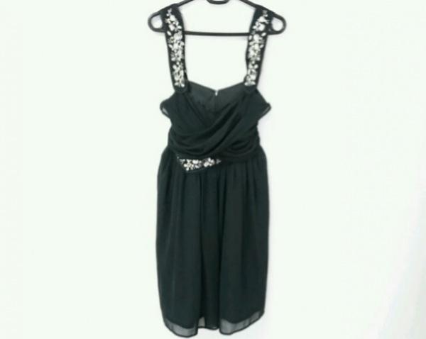 Chesty(チェスティ) ドレス サイズ0 XS レディース美品  黒 ビジュー 0
