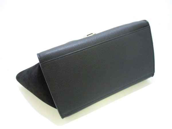 セリーヌ ハンドバッグ美品  トラペーズスモール 174683MDB.38NO 黒 4