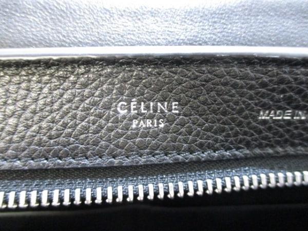 セリーヌ ハンドバッグ美品  トラペーズスモール 174683MDB.38NO 黒 6