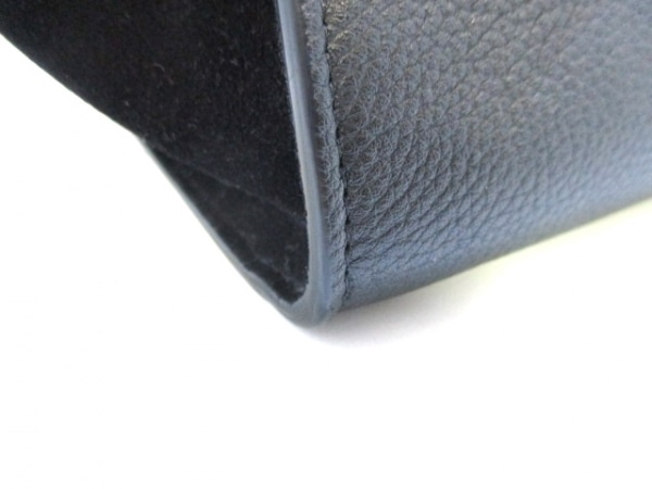 セリーヌ ハンドバッグ美品  トラペーズスモール 174683MDB.38NO 黒 7