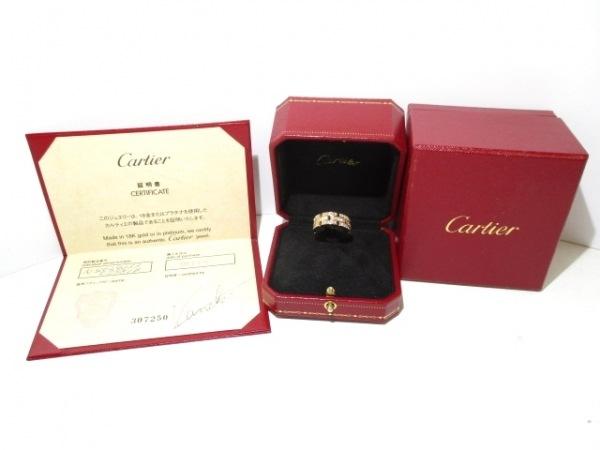カルティエ リング 53美品  パンテール N4029353 フルダイヤ 8