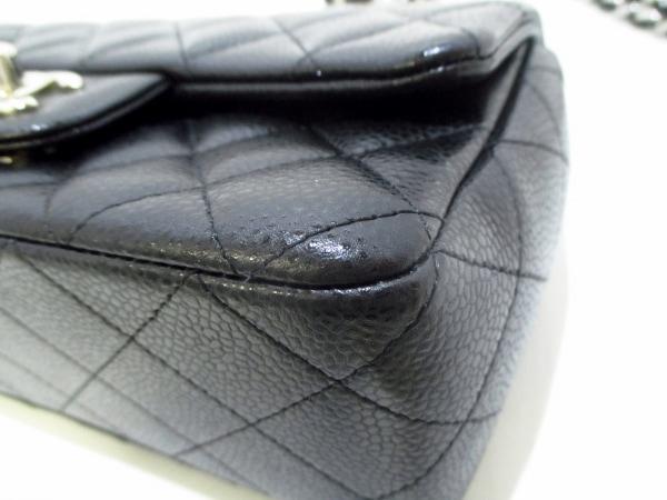 CHANEL(シャネル) ショルダーバッグ美品  ミニマトラッセ A69900 黒 8