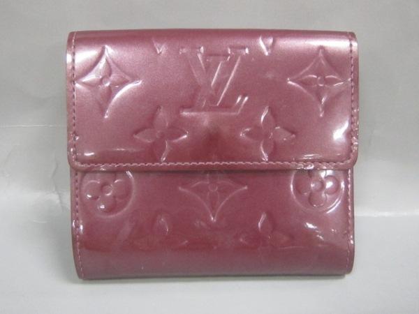 ルイヴィトン Wホック財布 モノグラムヴェルニ M93576 ヴィオレット 2