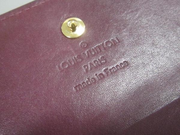 ルイヴィトン Wホック財布 モノグラムヴェルニ M93576 ヴィオレット 5