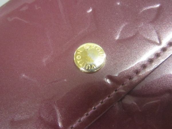 ルイヴィトン Wホック財布 モノグラムヴェルニ M93576 ヴィオレット 8
