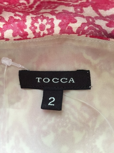 TOCCA(トッカ) ワンピース サイズ2 S レディース ピンク×アイボリー 3