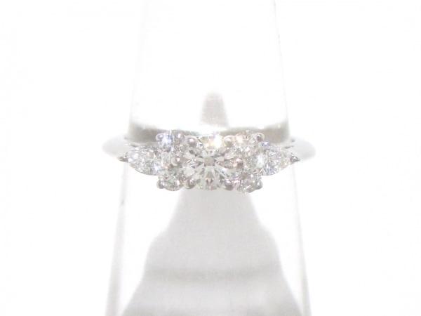 ティファニー リング美品  セブンストーンリング - 7Pダイヤ 0