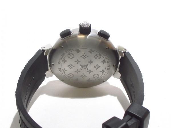 ヴィトン 腕時計美品  タンブールインブラック Q118F メンズ 3