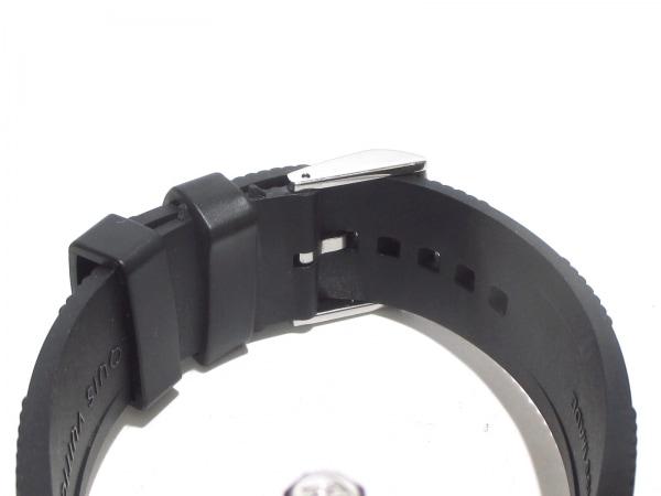 ヴィトン 腕時計美品  タンブールインブラック Q118F メンズ 4
