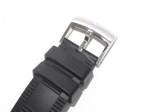 ヴィトン 腕時計美品  タンブールインブラック Q118F メンズ 5