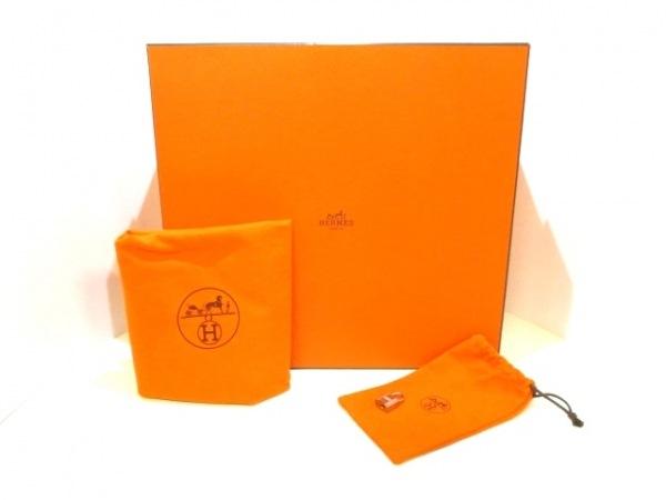 エルメス ハンドバッグ美品  バーキン35 ブルージーン シルバー金具 9