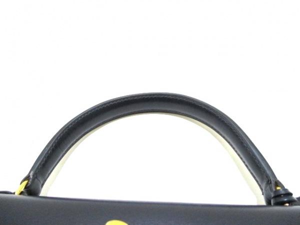エルメス ハンドバッグ ケリー28 ブルーロワイヤル ボックスカーフ 5