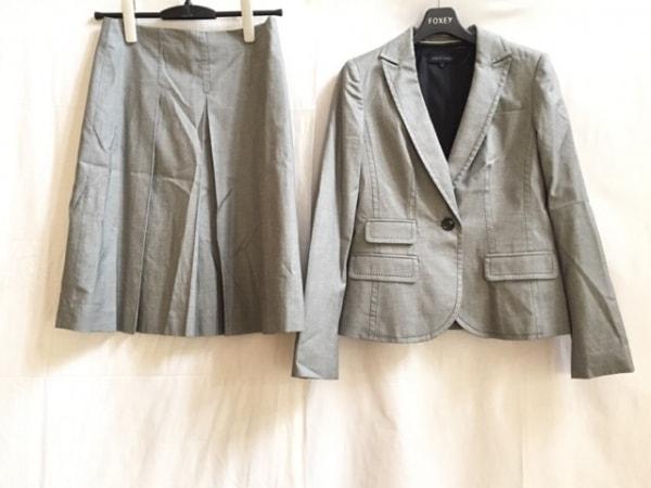 バナナリパブリック スカートスーツ サイズ2 S レディース 白×黒 0