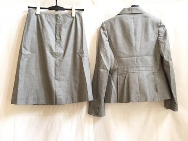 バナナリパブリック スカートスーツ サイズ2 S レディース 白×黒 2
