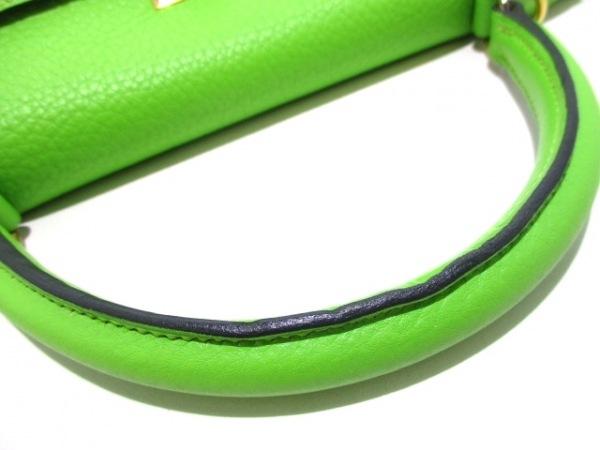 HERMES(エルメス) ハンドバッグ ケリー32 アップルグリーン 8