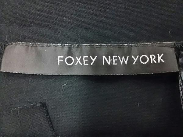 フォクシーニューヨーク ワンピース サイズ42 L レディース美品  黒 3
