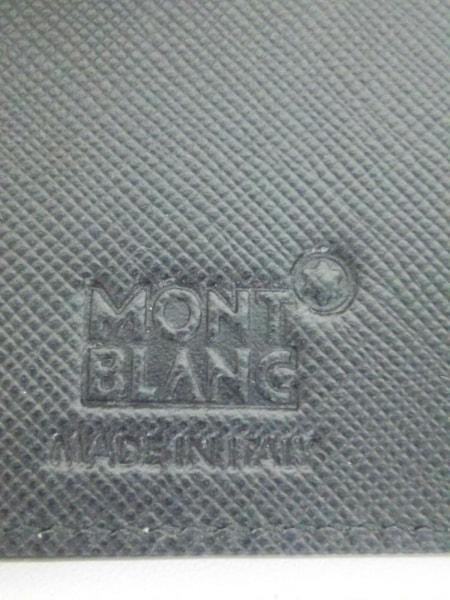 MONTBLANC(モンブラン) 名刺入れ新品同様  黒 レザー 4