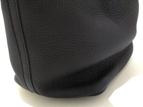エルメス ハンドバッグ美品  ピコタンロックMM 黒 シルバー金具 8