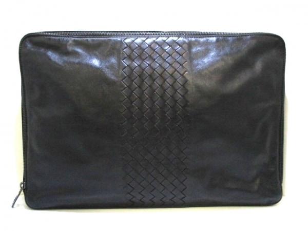 ボッテガヴェネタ バッグ イントレチャート B01219084D 黒 レザー 0