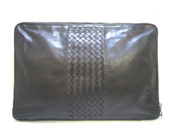 ボッテガヴェネタ バッグ イントレチャート B01219084D 黒 レザー 3