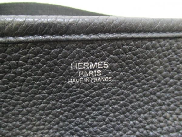 HERMES(エルメス) ショルダーバッグ美品  エブリントロワGM 黒 6