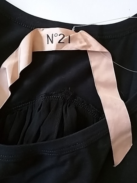 ヌメロ ヴェントゥーノ タンクトップ サイズ38 M レディース 黒 3