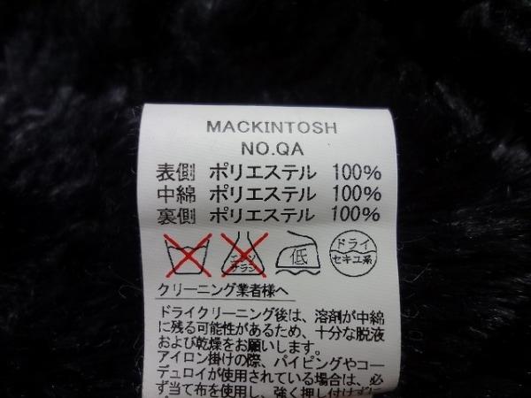 マッキントッシュ ポンチョ サイズ34 S レディース新品同様  黒 4