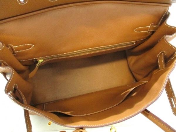 エルメス ハンドバッグ美品  バーキン35 ゴールド ゴールド金具 トゴ 2