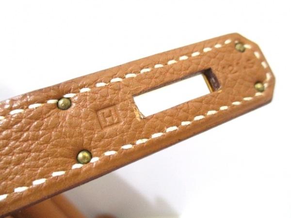 エルメス ハンドバッグ美品  バーキン35 ゴールド ゴールド金具 トゴ 4