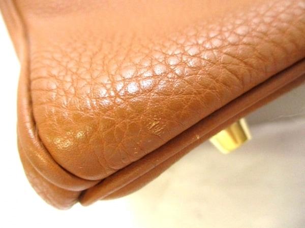 エルメス ハンドバッグ美品  バーキン35 ゴールド ゴールド金具 トゴ 6